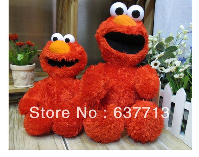 "5 pcs 15.7"" 40CM Sesame Street Elmo Plush Toy For Children Gift retail hot sale(China (Mainland))"