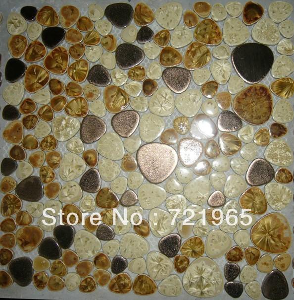 Magnetic backsplash tiles