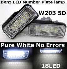 Canbus License plate light number lamp Benz W211 4D 03~09 5D W203 01~07 W219 04~10 R171 2D 04~11 - Shenzhen Coolcar4u car Lighting Co.,Ltd. store