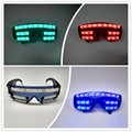 Wecool hot sale new design 7 color flashing LED glow glasses flashing led glasses laser glasses