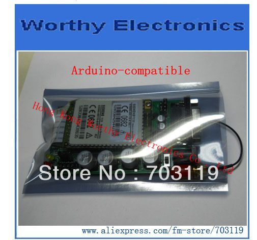 GSM SIEMENS TC35 Module Board RS232 UART Serial + Voice adapter(China (Mainland))