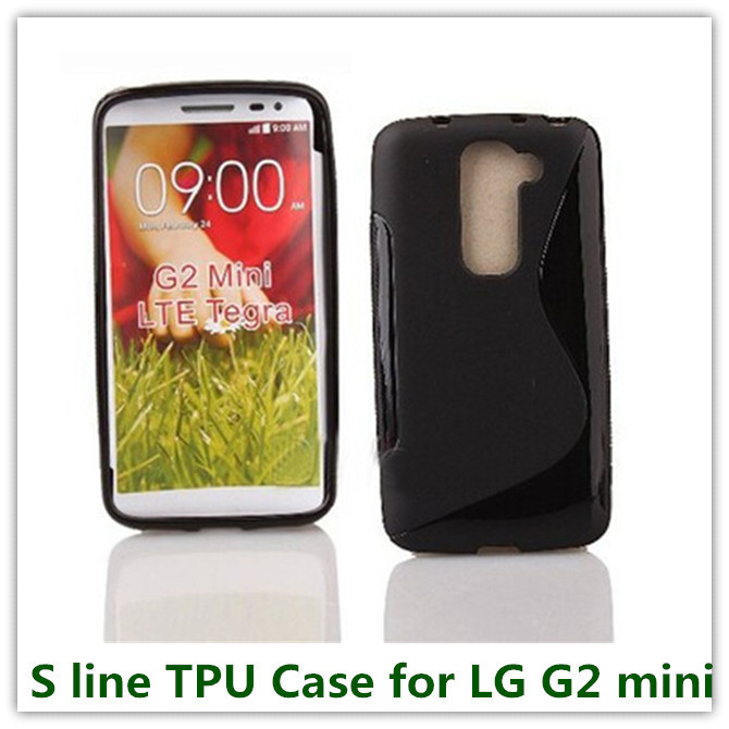 35PCS High Quality Rubber Candy Soft TPU Back Skin Cover Case for LG G2 Mini D618 Simple Rubber Cellphone Cover Free(China (Mainland))