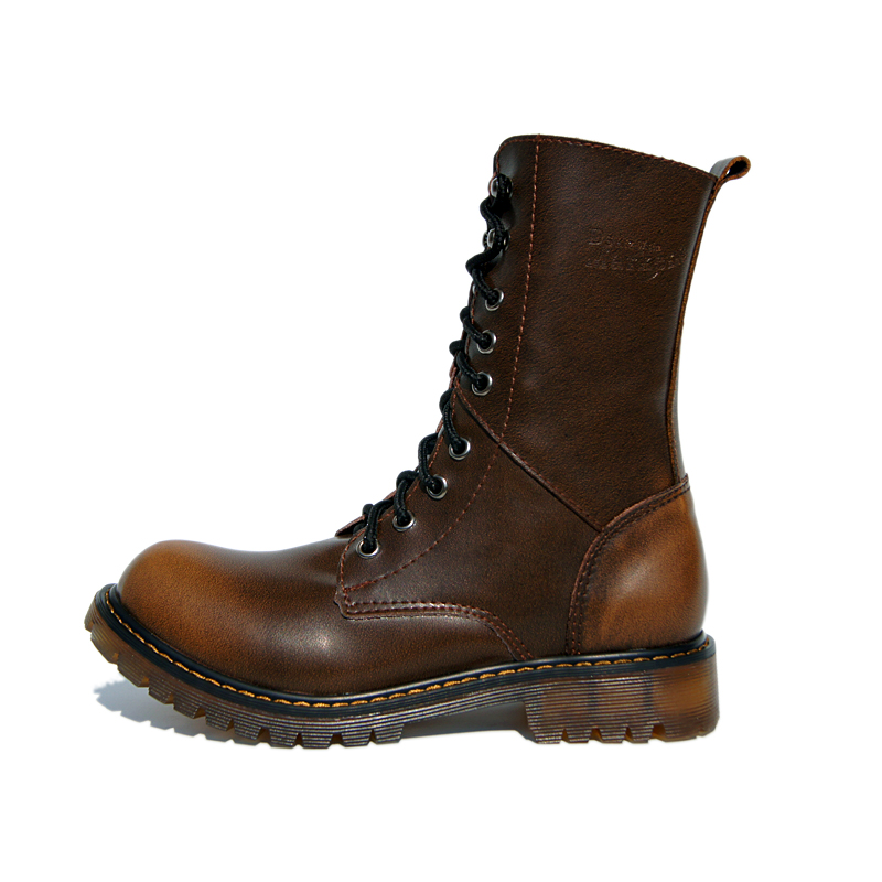 2013 High Quality Genuine Leather  Cowhide Martin Boots Brand  Cow