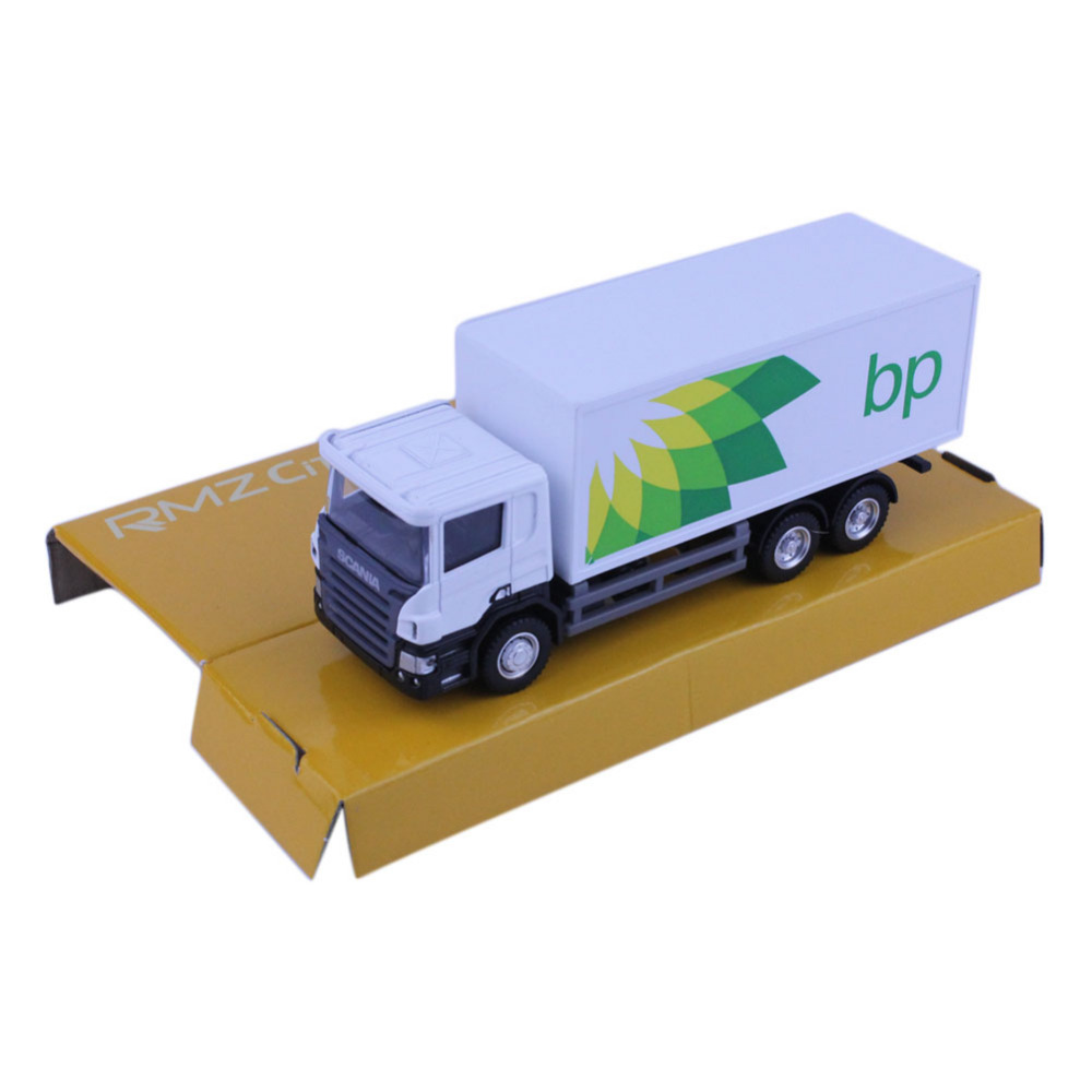 1pc High Quality RMZ City SCANIA Container Trucks (BP) 144002A 1/64 Scale Diecast Vehicles Model Car Toys Friend Children Gift(China (Mainland))