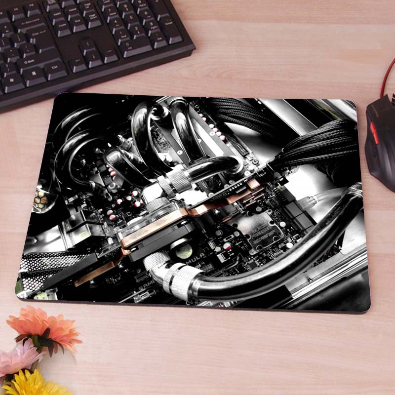 Liquid Cooling Silicon Anti-slip Mouse Mats Computer Laptop Notbook Gaming Mouse Mat<br><br>Aliexpress