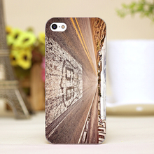 pz0008-4 Highway 66 Design Customized cellphone transparent case cover for iphone cases for iphone 4 5 5c 5s 6 6plus