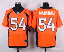 Top A Denver Broncos Peyton Manning,Von Miller,DeMarcus Ware,Demaryius Thomas,Derek Wolfe,Paxton Lynch with the 50th SB patch(China (Mainland))
