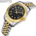 2016 Mens Watches Top Brand Luxury Gold Watch Full Steel Men Business Clock Analog Date Men