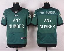 2016 Men Philadelphia Eagles,7 Sam Bradford, 11 Carson Wentz 20 Brian Dawkins 43 Darren Sproles, 100% stitched logo green black(China (Mainland))