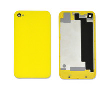 Big promotion- color optional OEM quality for iPhone 4S 4GS back housing cover replacement with logo free shipping(China (Mainland))