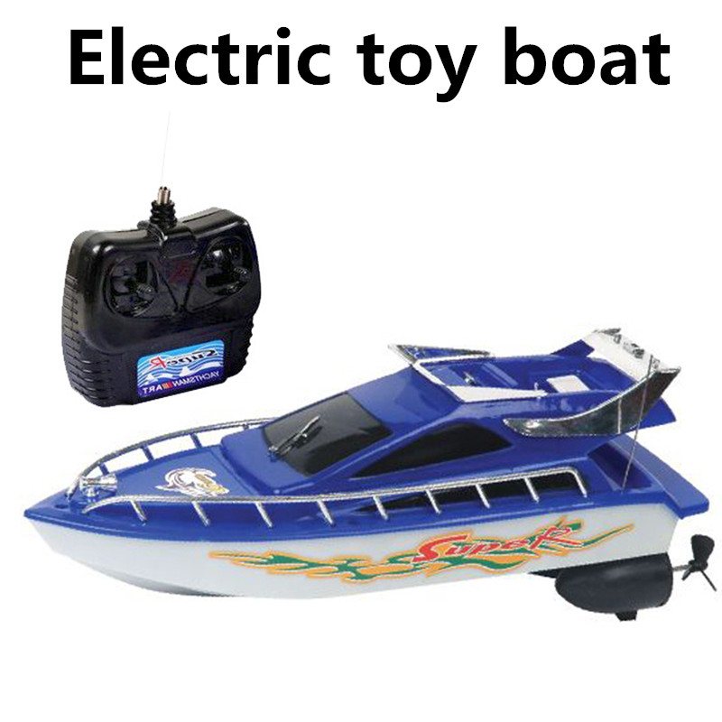 Electric toy boats, remote control boats,4 channel remote control boat, sailing simulation model, free shipping(China (Mainland))