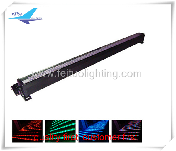Free shipping 4 pieces outdoor 252pcs color dmx rgb led wall washer(China (Mainland))