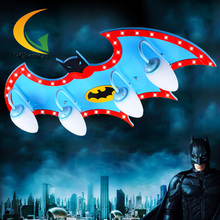 remote control kids led lamp child ceiling light personality superman child ceiling light boys bedroom(China (Mainland))