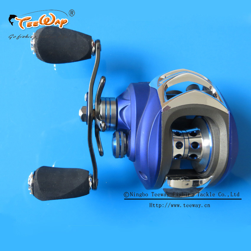 Hot sale md200la 10 1bb ball bearings right hand for Fishing rods and reels for sale used