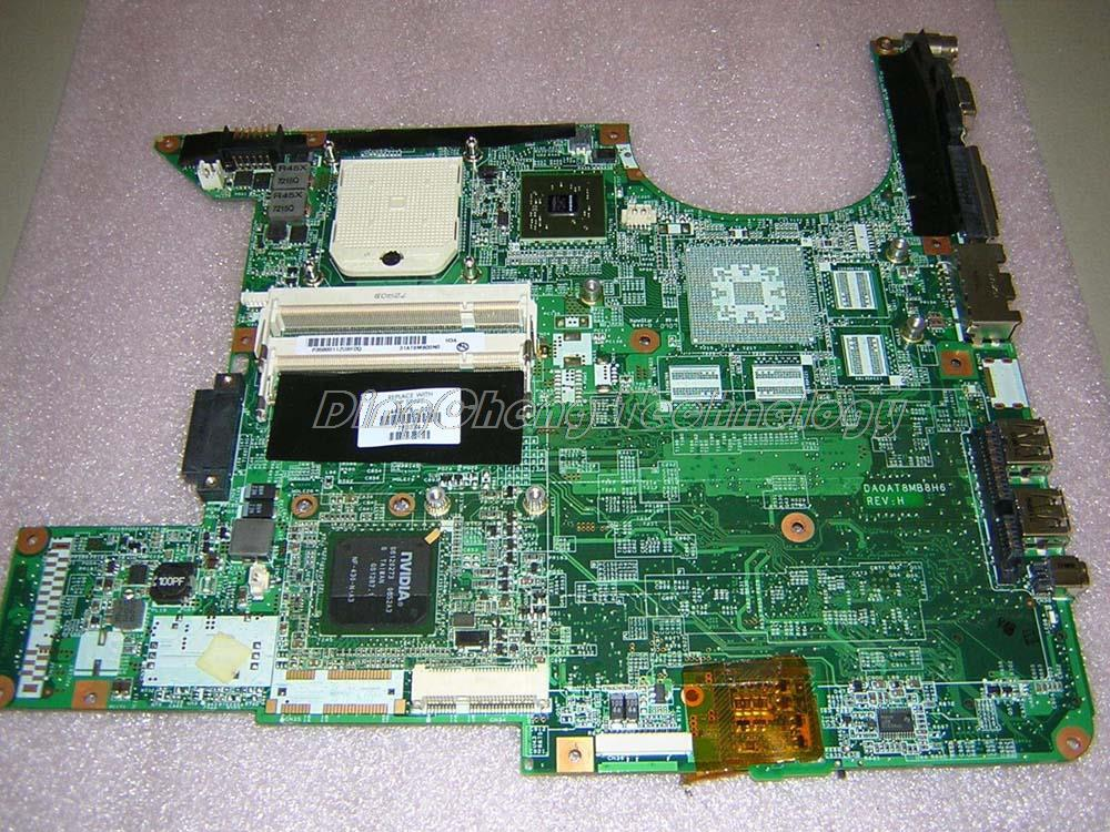 Original laptop Motherboard For hp DV6000 443775-001 for AMD cpu with integrated graphics card DDR2 100% tested fully(China (Mainland))