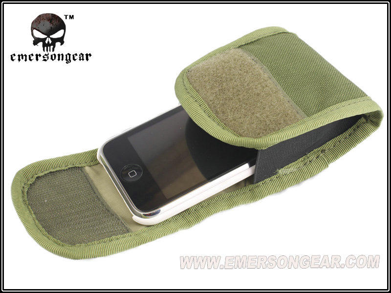 """EMERSON Tactical 2"""" Webbing Accessory pouch radio pouch handphone cellphone case utility molle bag EM8330C(China (Mainland))"""