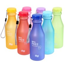 Travel Mug 500ML Portable Leak-proof Water Bottle Plastic Cup for Outdoor Camping Hiking Travel Bottle(China (Mainland))