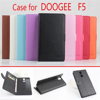 Etui portfel do Doogee F5 skóra PU przyklejane różne kolory