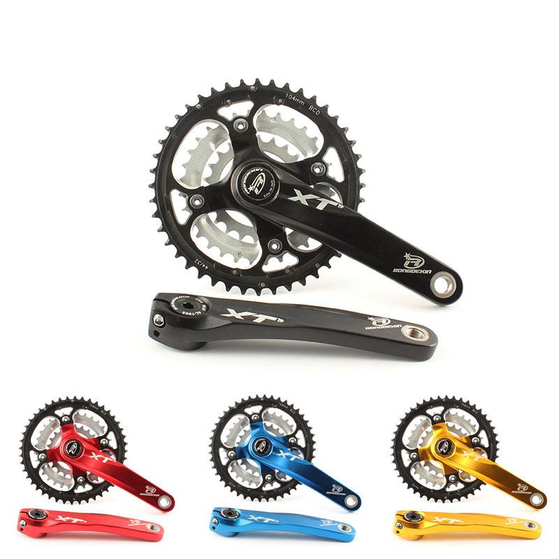 Фотография Mountain bike 27-speed 9-speed crankset chainring crankset hollow bike gear