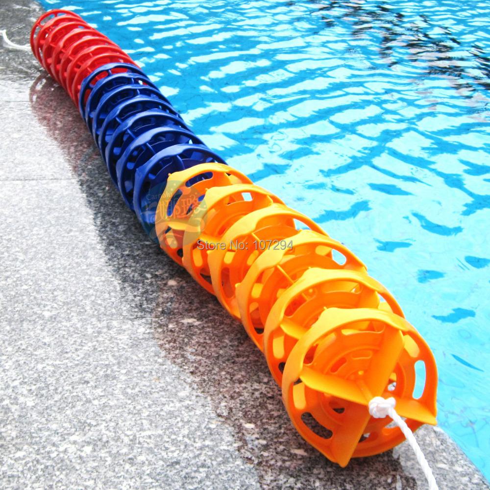 25 Meter Lot Swimming Pool Lane Line 15 100cm Per Section Floating Pool