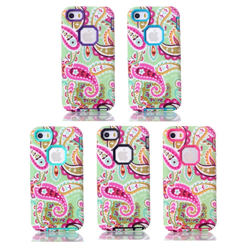 for iPhone 5/5C/5s/se unique mobile phone shell accessories iphone case wholesale suppliers 3-in-1 Bandanna mobile phone selling(China (Mainland))