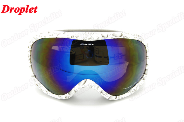 All weather Double PC Lens 100% uv protection,anti-fog,anti-scratch Snowing Goggles Outdoor Unisex Snowboard Ski Goggle  OK132-1