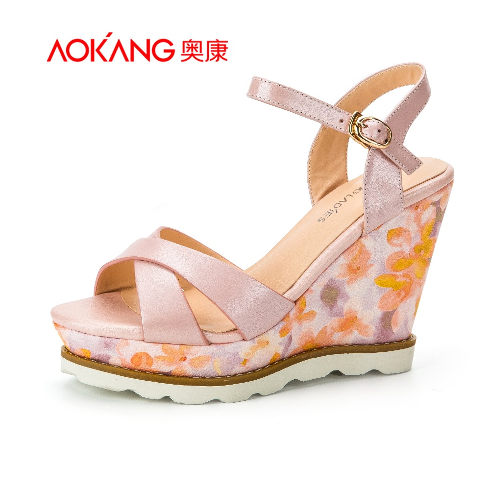 AOKANG 2015New Arrival Women shoes Casual Shoes Thick bottom shoes<br><br>Aliexpress