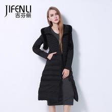 Winter Jacket Women 2015 Coat Plus Size XXXL Long Parka Luxury fox Fur Cotton-Padded Coats Wadded Jackets - lucky yan's store