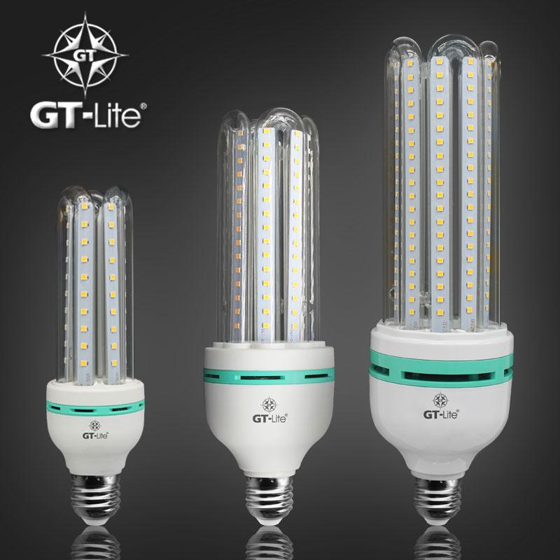 GT-Lite LED Corn Bulb,E26 & E27,Glass Lampshade,Aluminum Lampcup,110V 220V 230V,Daylight & Warm White,LED Lamp,Light(China (Mainland))