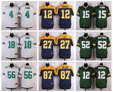 TOP A 100% Stitiched,Green Bay Packers,Aaron Rodgers,eddie lacy()