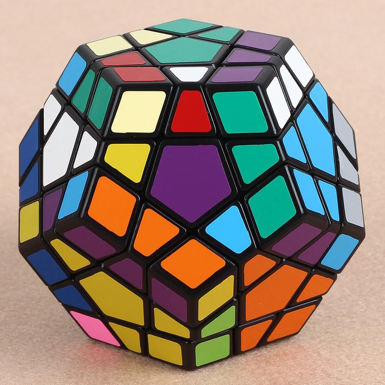 12 Sides amazing Magic Cube Promotion 5-7 Years Neocube Puzzle 2015 Hot Sale Megaminx Plastic Cubo Magico Training Unique(China (Mainland))