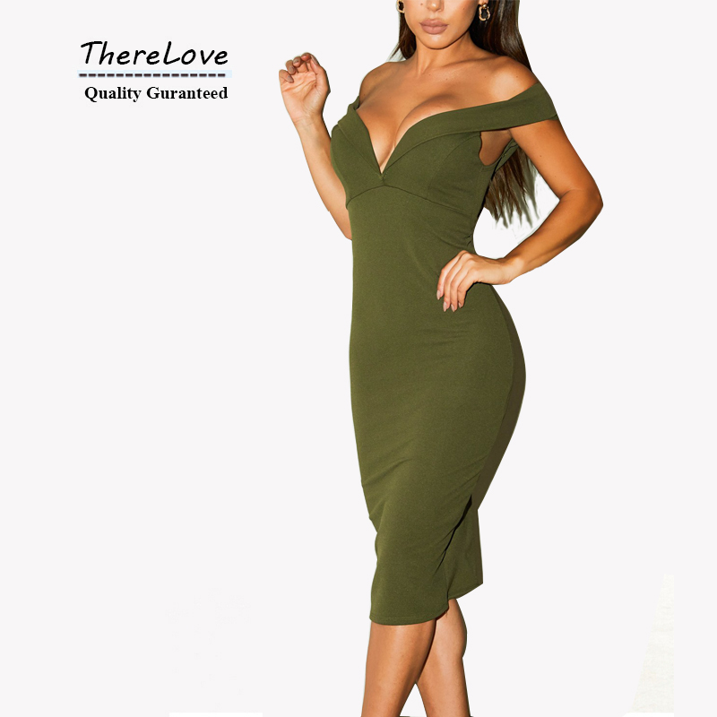 2015 Plunging Neck women sexy dresses summer style strapless backless club dress high quality army green bodycon dress wholesale(China (Mainland))