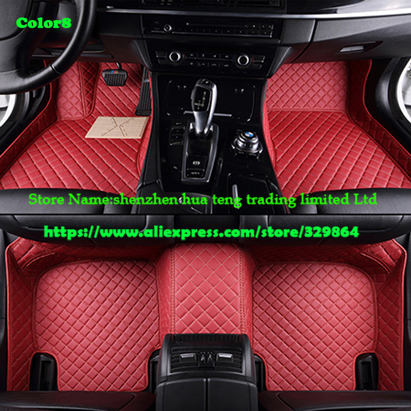 Custom fit car floor mats for Land Rover Discovery 3/4 2 Sport Range Rover Sport Evoque 3D car styling carpet liner(China (Mainland))