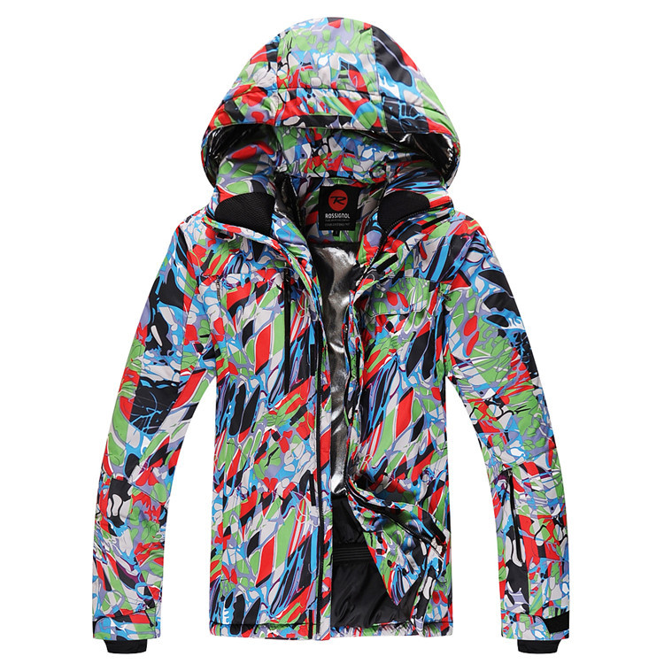 Hot Sale New Arrival Brand ROSSIGNOL Mens Outdoor Sport Skiing And Snowboarding Jacket Water ResistanTo 8K Breathable Jackets<br><br>Aliexpress