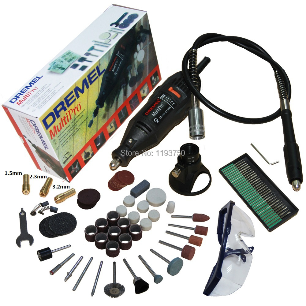 Hot&Free Shipping 220V 130W Electric Variable Speed Dremel Rotary Tool Mini Drill with Flexible Shaft and 137pcs Accessories(China (Mainland))