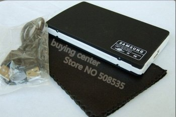 Free shipping usb2.0 2.5inch With Retail box sata external hard disk drive HDD case enclosure
