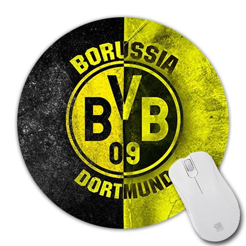 Cool Best Dortmund Badge Logo Wallpaper Silicon Mousepad Mice Mats Speed Mouse Pad Computer Rubber comfort Mouse Mat Mices Pads(China (Mainland))