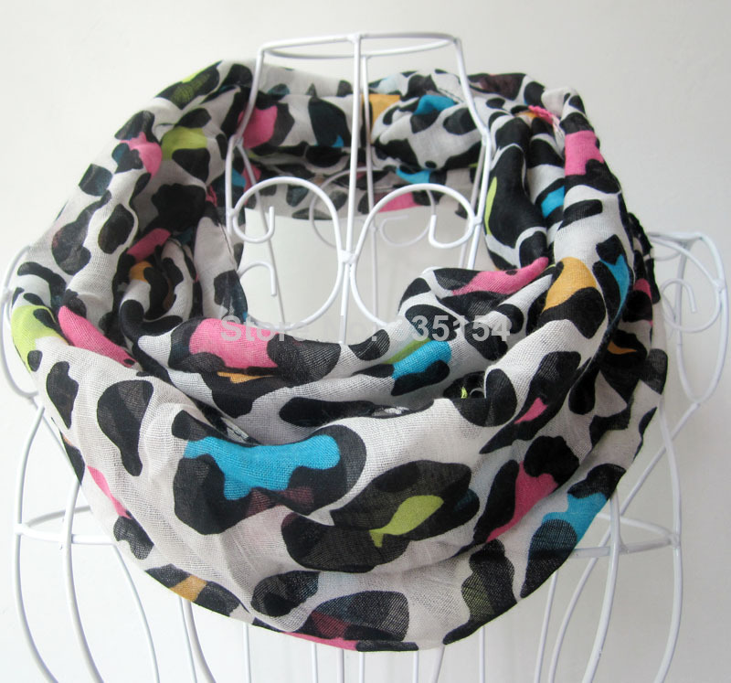 [해외]2014 Latest Kids Leopard Infinity Scarf Toddler Gir..