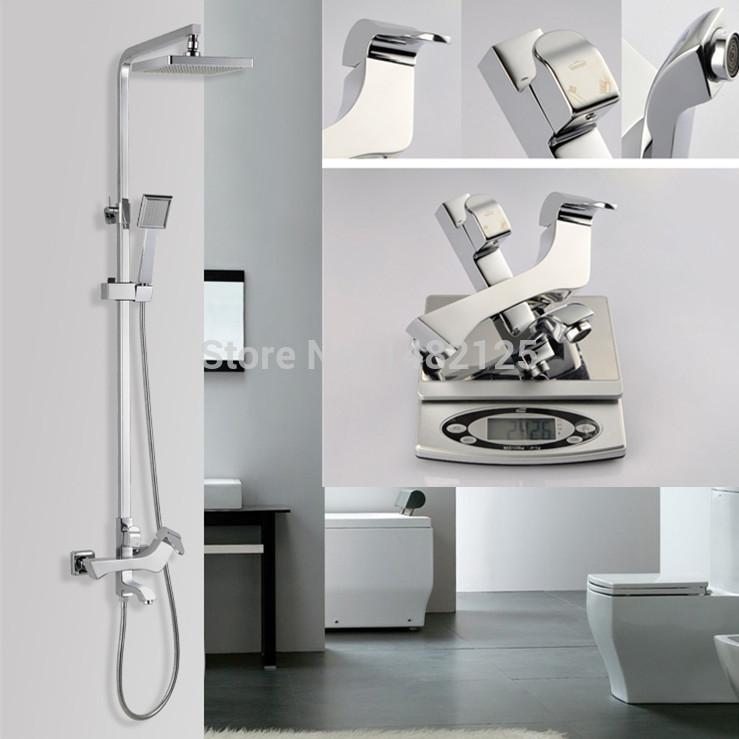 Здесь можно купить  Fress Shipping 2014 New Patent Design Luxury Bath & Shower Faucet Set  Дом и Сад