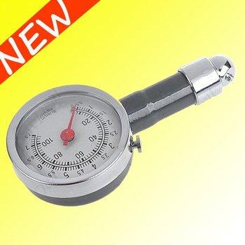 Wholesale FREE SHIPPING  Car Motorcycle Tire Portable Air Pressure Meter Gauge