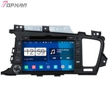 Top Newest Quad Core S160 Android 4.4 Car DVD Player For K5 With 16GB Flash Wifi Bluetooth GPS Mirror Link Free Shipping