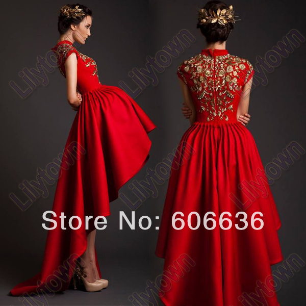 2014-Arabia-Singer-Myriam-fares-High-Low-Red-Satin-Gold-Embroidery-Unique-Special-Dress-Celebrity-Dresses.jpg