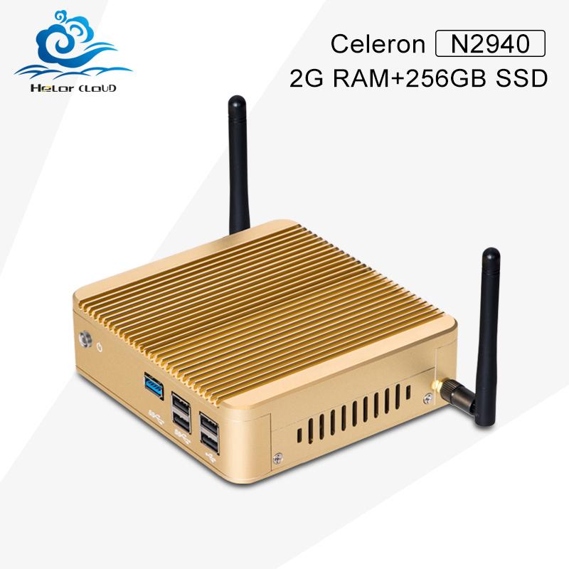 Hot selling X30-N2930 quad core n2940 1.83GHz latest desktop computers mini thin client business PC terminal 2GB RAM 256GB SSD(China (Mainland))