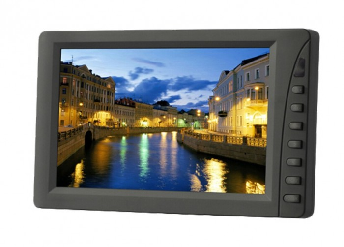 LILLIPUT EBY701-NP/C/T 7 Inch LED Touchscreen Monitor,With VGA Connect With Computer,1 Audio, 2 Video Input,Built-in Speaker(China (Mainland))