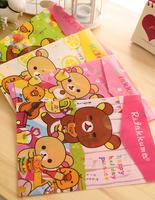 Kawaii Korean Rilakkuma File Bag Document Folder for Paper Storage Case Stationery Carpetas Office School Supplies Borsa Oficina