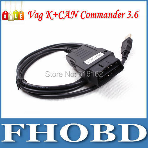 VAG K+CAN COMMANDER 3.6 commader OBD2 interface