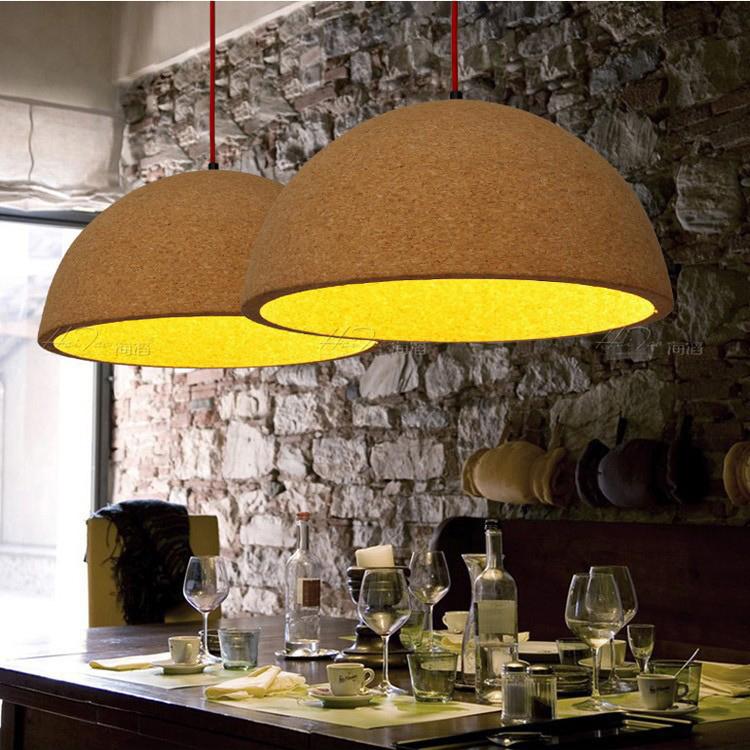 nordic ikea lamp ronde kurk creatieve individualiteit slaapkamer ...