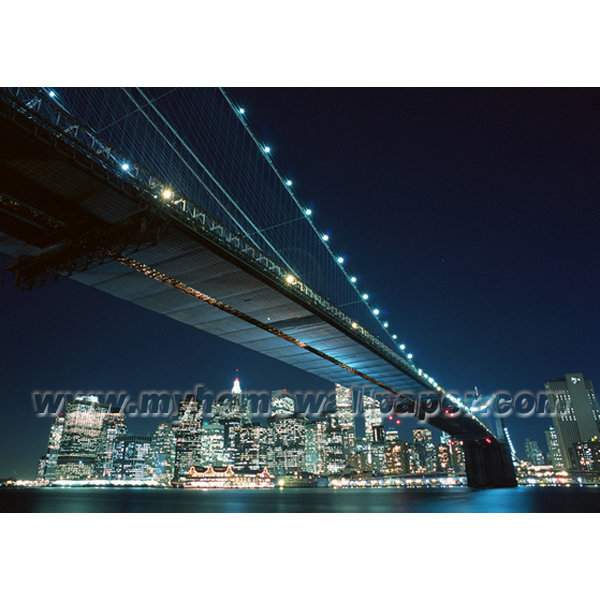 Bh3227 cityscape the beautiful night view of the city for City view wallpaper mural