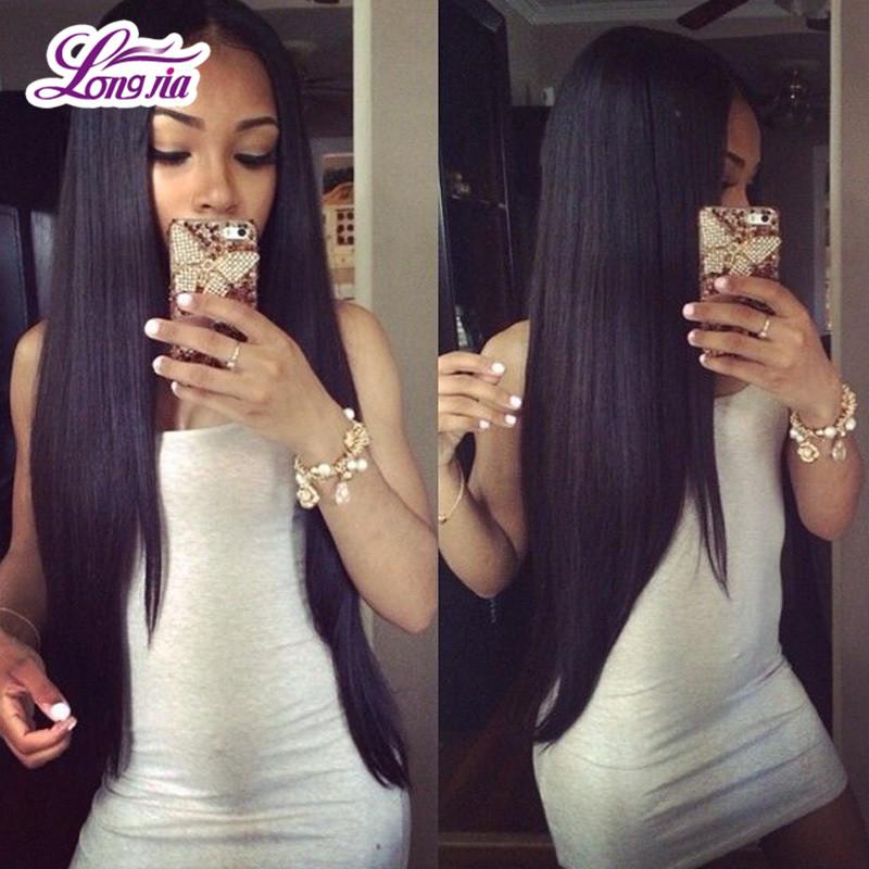 Luxy Hair Company 7A Peruvian Virgin Hair Straight 4Pcs Unprocessed Peruvian Straight Hair Cheap 100% Human Hair Extensions(China (Mainland))