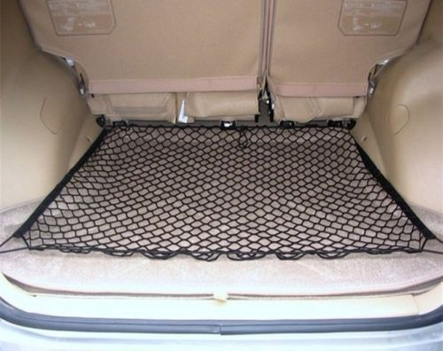 2015 HOT SALE 4 HOOK CAR TRUNK CARGO NET LUGGAGE MESH FOR VW GOLF 6 PASSAT B5 JETTA TIGUAN MAGOTAN SAGITAR SANTANA POLO 70X70CM(China (Mainland))